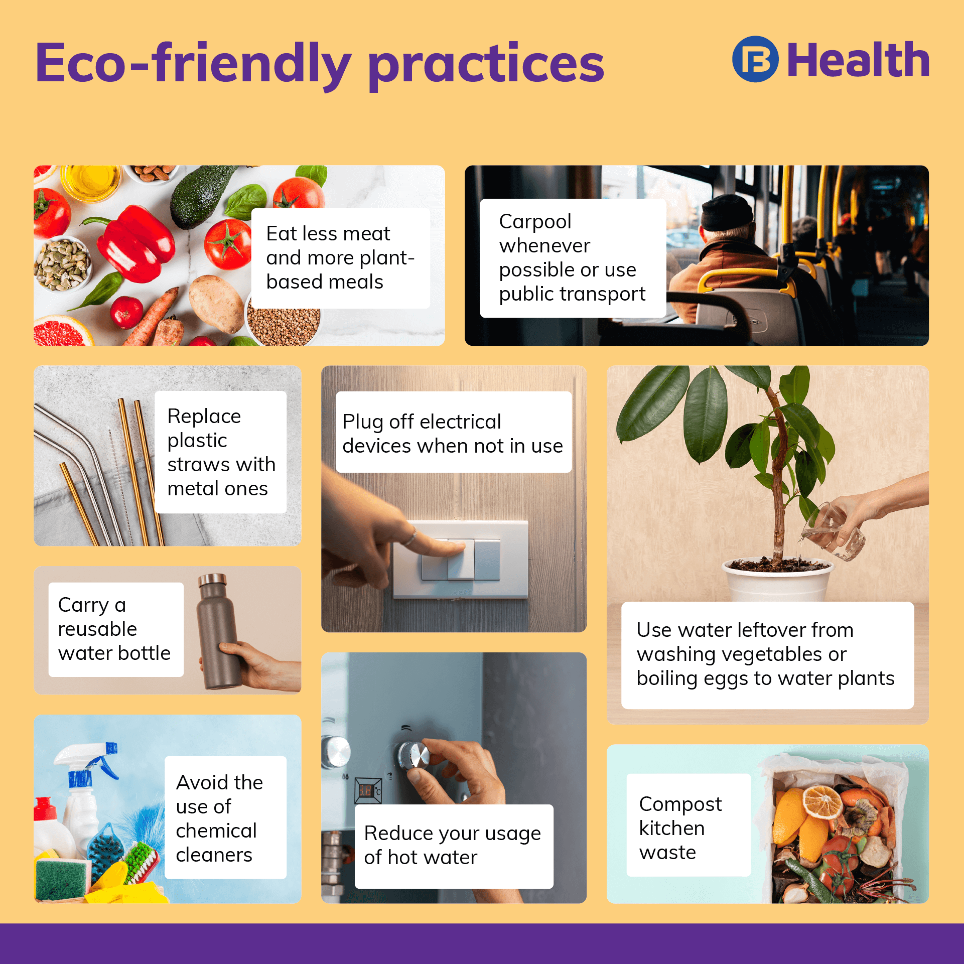 Healthy environment practices
