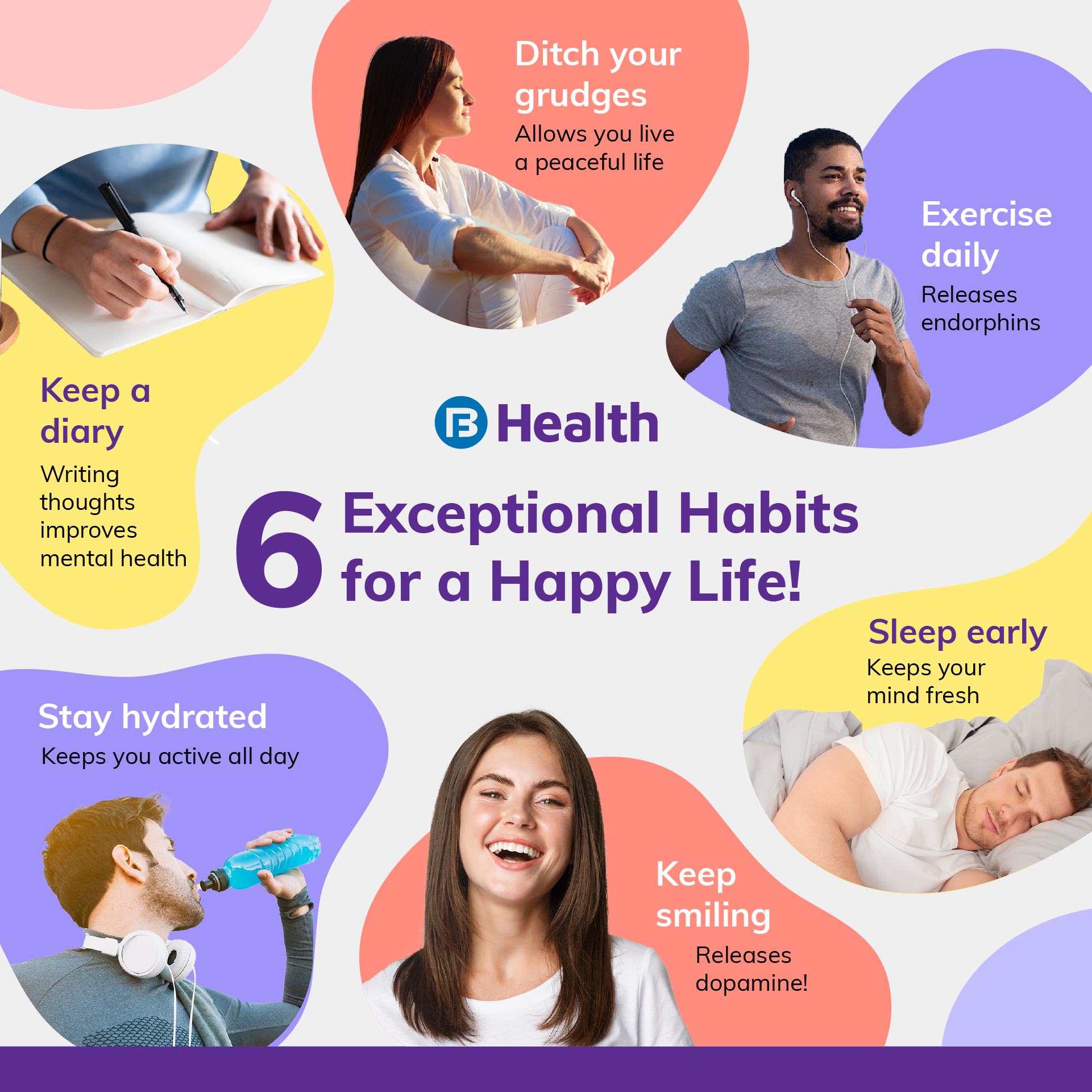 6 tips for a happy life