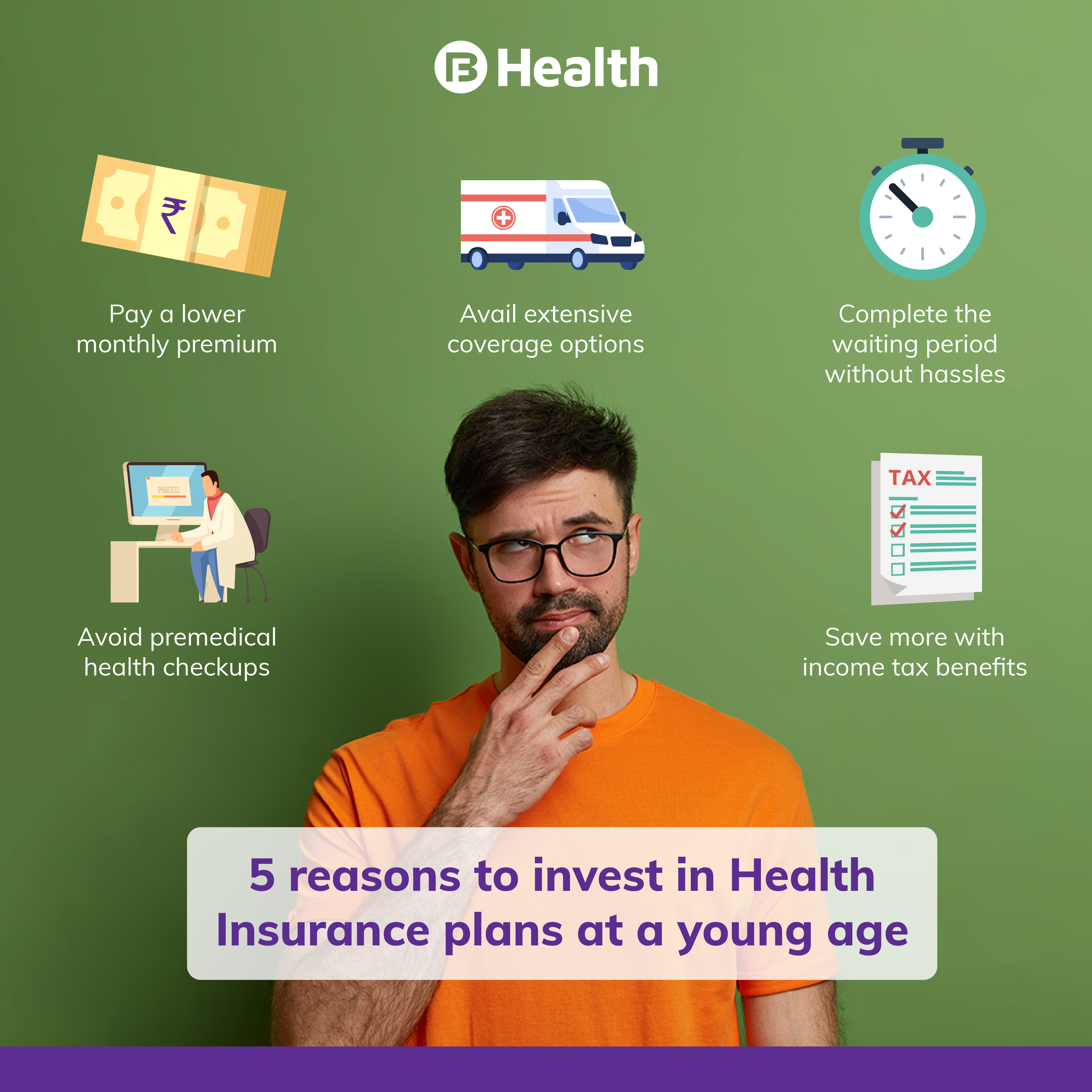 why take health insurance when young