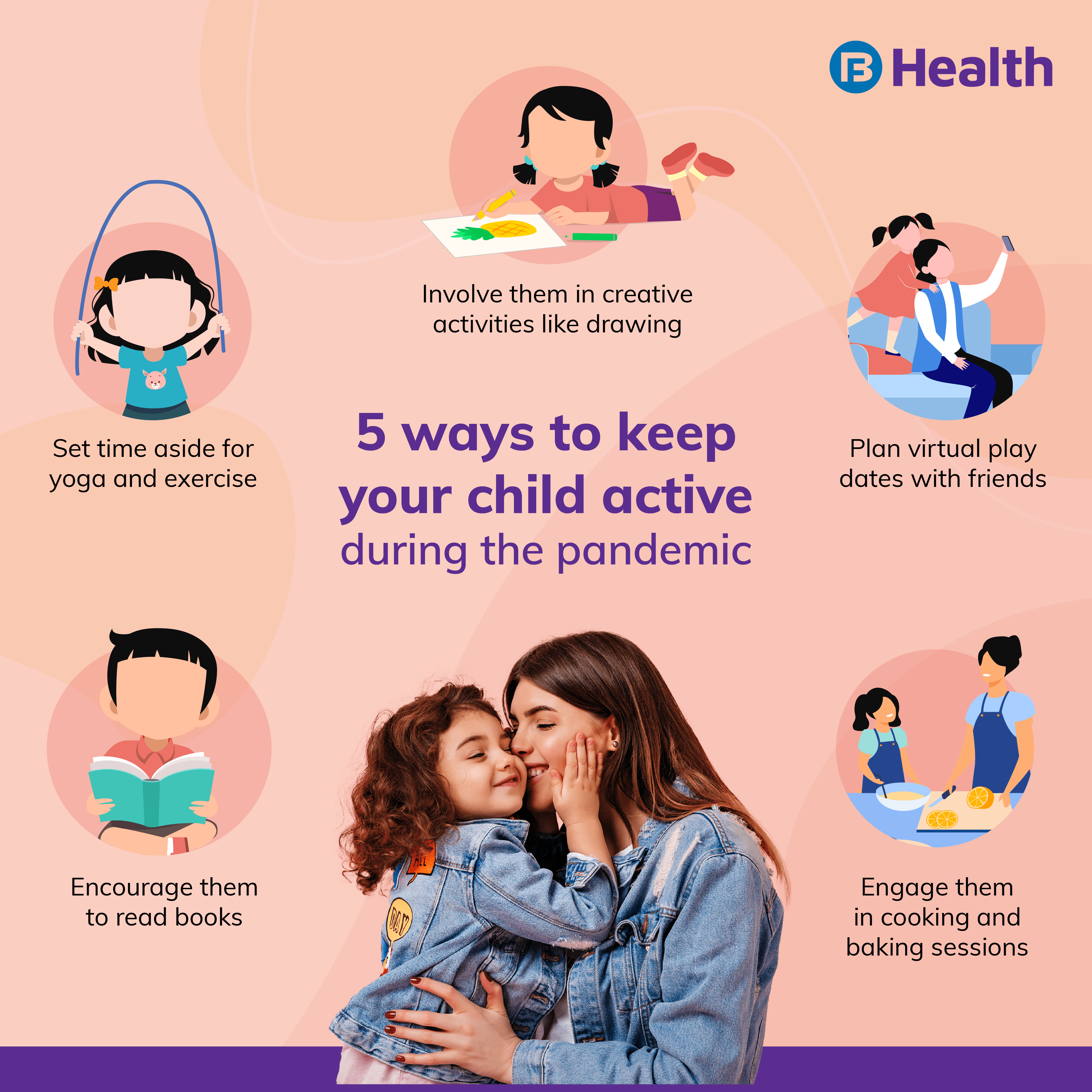 how to keep child active in pandemic