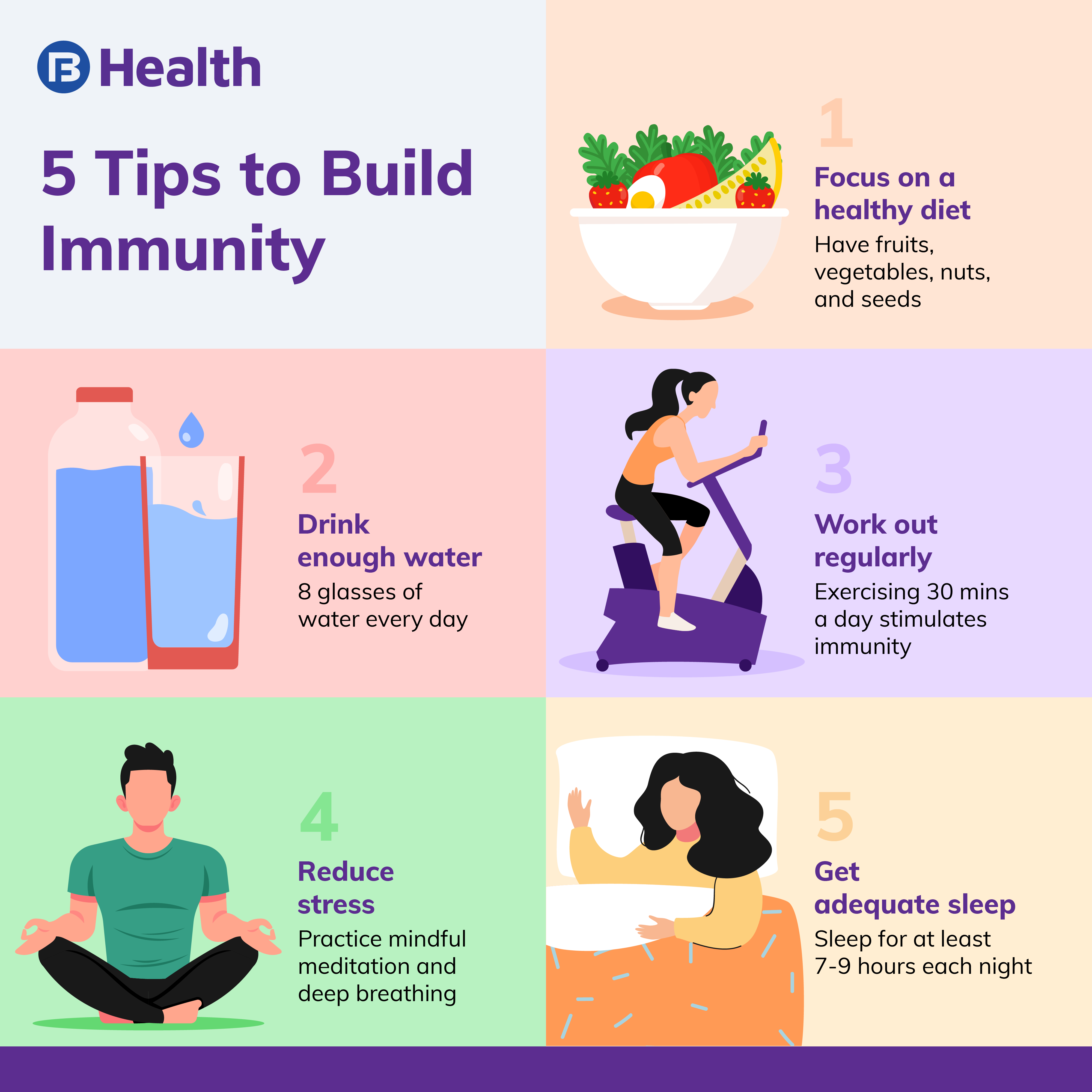 Tips to build immunity